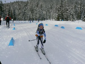 Sally at Callaghan BC Cup January 2012