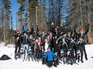 Telemark Racers Team Photo, Kamloops, February 2011