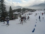 """Madeleine fighting up the """"hill from down under"""" at Canmore this weekend"""