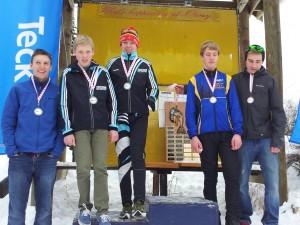 Telemark Juvi Boys Finish 2nd in Junior Men Relay; Sorry Hollyburn