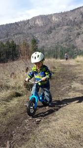 Owen Rides RV lake