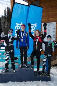 midgets podium